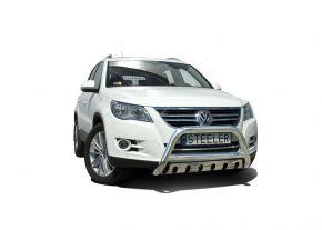 Frontbügel Frontschutzbügel Bullbar Steeler für Volkswagen Tiguan 2010- Modell S