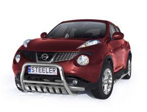 Frontbügel Frontschutzbügel Bullbar Steeler für Nissan Juke 2010- up Modell S