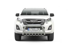 Frontbügel Frontschutzbügel Bullbar Steeler für ISUZU D-MAX 2012-2017- Modell G