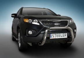 Frontbügel Frontschutzbügel Bullbar Steeler für Kia Sorento 2010-2012 Modell U