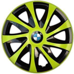 "Radkappen für BMW 15"", DRACO grün 4 Stück"