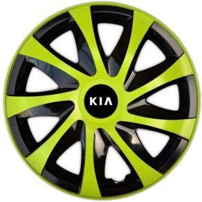 "Radkappen für KIA 15"", DRACO grün 4 Stück"