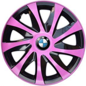 "Radkappen für BMW 15"", DRACO rosa 4 Stück"