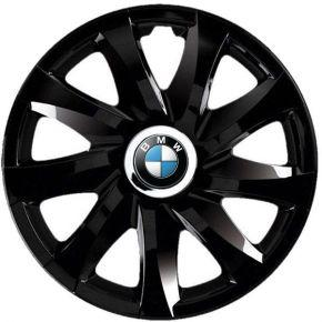 """Radkappen für BMW 13"""", DRIFT schwarz lackiert 4 Stück"""