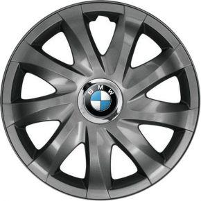 """Radkappen für BMW 14"""", DRIFT Graphit lackiert 4 Stück"""