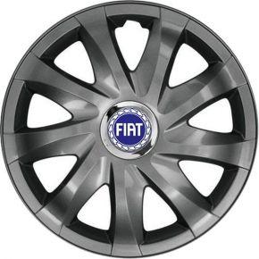 "Radkappen für FIAT BLUE 14"", DRIFT Graphit lackiert 4 Stück"