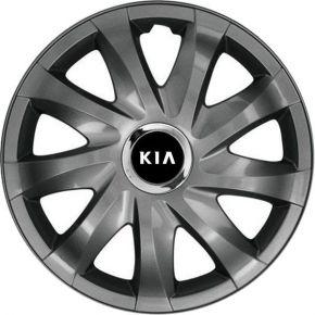 """Radkappen für KIA 14"""", DRIFT Graphit lackiert 4 Stück"""