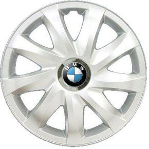 "Radkappen für BMW 15"", DRIFT grau lackiert 4 Stück"
