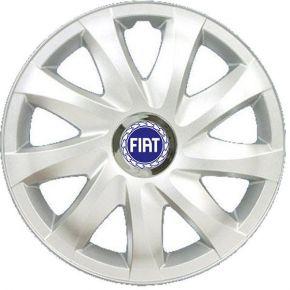 """Radkappen für FIAT BLUE 16"""", DRIFT grau lackiert 4 Stück"""