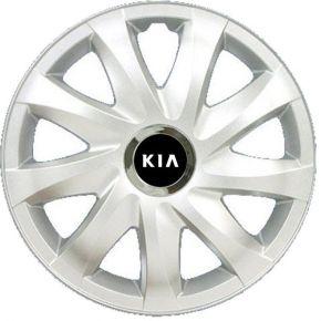 "Radkappen für KIA 14"", DRIFT grau lackiert 4 Stück"