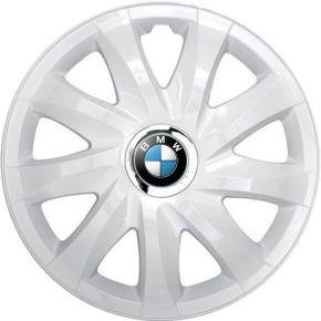 """Radkappen für BMW 14"""", DRIFT weiß lackiert 4 Stück"""