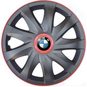 """Radkappen für BMW 14"""", KANDO RACE rot 4 Stück"""