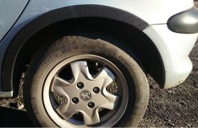 Kunststoff Anhänger Kotflügel für PEUGEOT 206 3-Türen 1998-2012