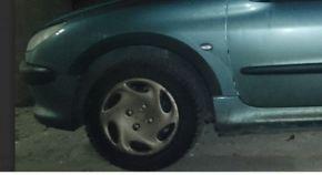 Kunststoff Anhänger Kotflügel für PEUGEOT 206 5-Türen 1998-2012