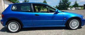 Kunststoff Anhänger Kotflügel für HONDA CIVIC V 3-Türen 1991-1996