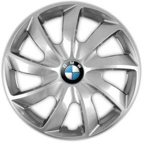 "Radkappen für BMW 15"", QUAD grau 4 Stück"