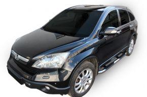 Seitlicher Edelstahlrahmen für Honda CR-V 2006-2012