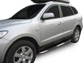 Seitlicher Edelstahlrahmen für Hyundai Santa Fe 2006-2012