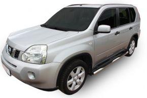 Seitlicher Edelstahlrahmen für Nissan X-Trail T31 2007-2013