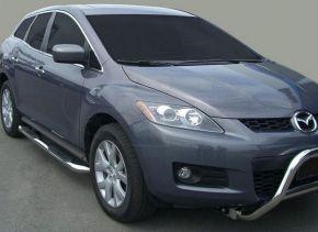Seitlicher Edelstahlrahmen für Mazda CX-7 2007-up