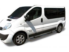 Seitlicher Edelstahlrahmen für Renault Trafic 2002-2011