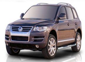 Seitlicher Edelstahlrahmen für Volkswagen Touareg 2002-2010