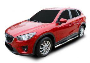 Seitlicher Edelstahlrahmen für Mazda CX-5 2012-2016