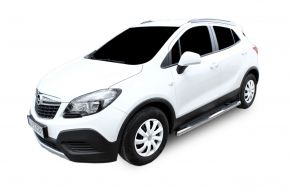 Seitlicher Edelstahlrahmen für Opel Mokka 2012-up