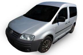 Seitlicher Edelstahlrahmen für Volkswagen Caddy 2003-2015, 60,3 mm BLACK