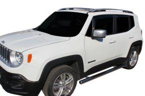 Seitlicher Edelstahlrahmen für Jeep Renegade 2014-up