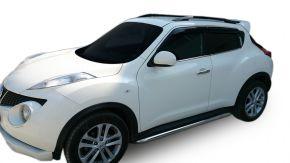 Seitlicher Edelstahlrahmen für Nissan Juke 2010-2014 / 2014-2019 60,3 mm