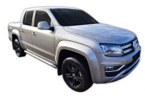 Seitlicher Edelstahlrahmen für Volkswagen Amarok 2010-2016, 2016-up