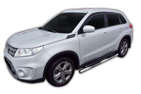 Seitlicher Edelstahlrahmen für Suzuki Vitara 2015-up