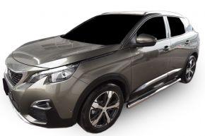 Seitlicher Edelstahlrahmen für Peugeot 3008 2017-up