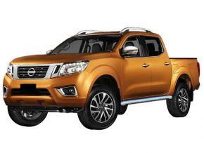 Seitlicher Edelstahlrahmen für Nissan Navara NP300 2016-up