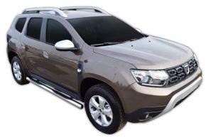 Seitlicher Edelstahlrahmen für Dacia Duster 2 2018-up