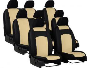 Autopoťahy na mieru Koža STANDARD FORD TOURNEO CUSTOM II 8m. (2013-2020)