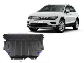 Stahlmotorabdeckung und Getriebeschutz für Volkswagen Tiguan 1,4TSI; 2,0TSI; 2,0TDI 2016-