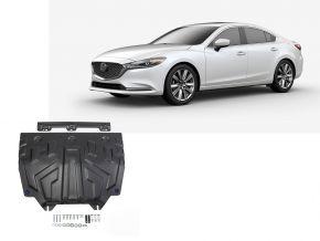 Stahlmotorabdeckung und Getriebeschutz für Mazda 6 1,8; 2,0; 2,5 2015-