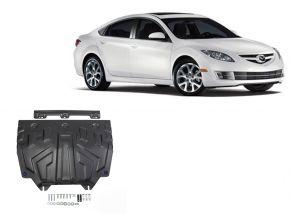 Stahlmotorabdeckung und Getriebeschutz für Mazda 6 1,8; 2,0; 2,5 2013-2015