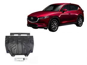 Stahlmotorabdeckung und Getriebeschutz für Mazda CX-5 2,0; 2,5; 2,2D 2017-