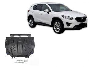 Stahlmotorabdeckung und Getriebeschutz für Mazda CX-5 2,0; 2,5; 2,2D 2011-2017