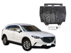 Stahlmotorabdeckung und Getriebeschutz für Mazda CX-9 2,5 2017-