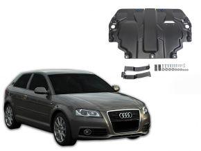 Stahlmotorabdeckung und Getriebeschutz für Audi A3 8P passt für alle Motoren 2003-2012