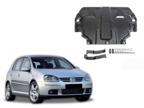 Stahlmotorabdeckung und Getriebeschutz für Volkswagen  Golf V passt für alle Motoren 2004-2008