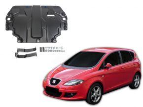 Stahlmotorabdeckung und Getriebeschutz für Seat Altea 1,6; 2,0TDI; 2,0TSI 2004-2015