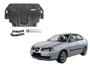 Stahlmotorabdeckung und Getriebeschutz für Seat Cordoba III passt für alle Motoren 2003-2009