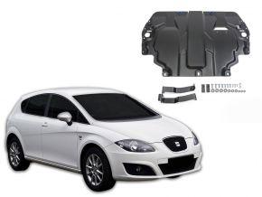 Stahlmotorabdeckung und Getriebeschutz für Seat Leon 1,6; 2,0TDI 2005-2013