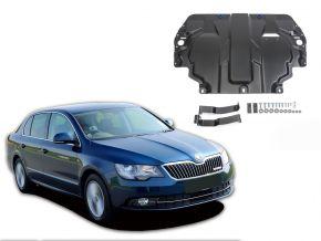 Stahlmotorabdeckung und Getriebeschutz für Skoda  Superb 1,4; 1,8; 2,0; 3,6 2008-2014