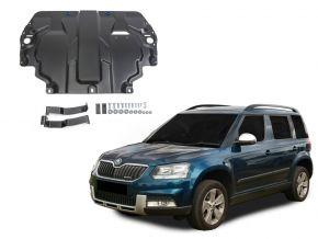 Stahlmotorabdeckung und Getriebeschutz für Skoda  Yeti passt für alle Motoren 2009-2017